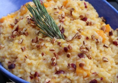 Roasted Butternut Orange Risotto