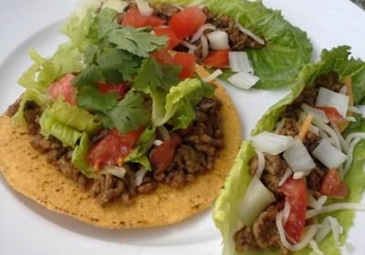 Ground Beef with Homemade Taco Seasoning Mix