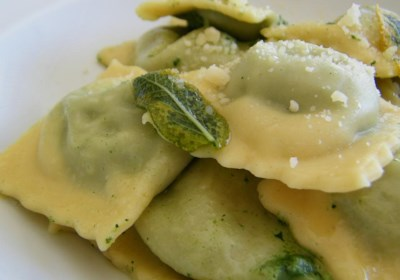 Spinach, Feta, and Pine Nut Ravioli Filling