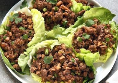 Asian Lettuce Wraps