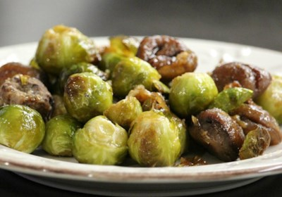 Praline Chestnuts and Sprouts