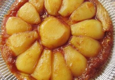Maple-Pear Tarte Tatin