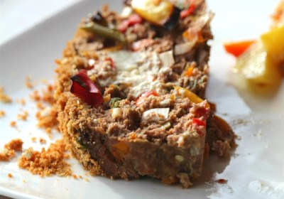 Habanero and Goat Cheese Meat Loaf