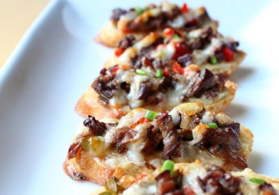 Mini Philly Cheesesteaks