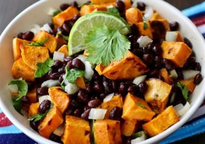 Vegan Black Bean and Sweet Potato Salad
