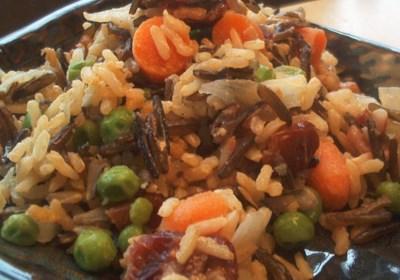Cashew Raisin Rice Pilaf