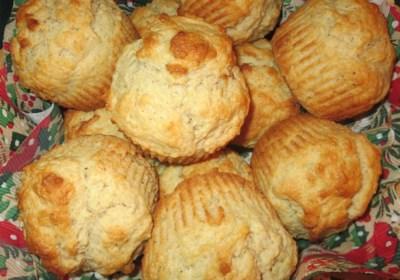 Eggnog Rum Muffins