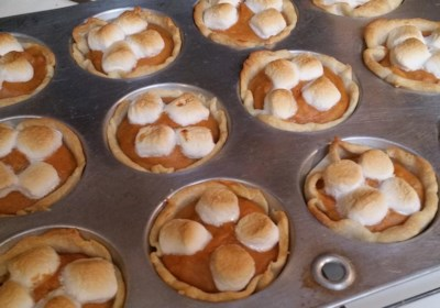 Mini Sweet Potato Pies