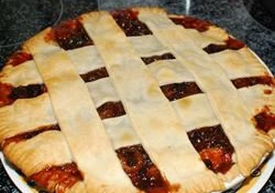 Old Time Mincemeat Pie