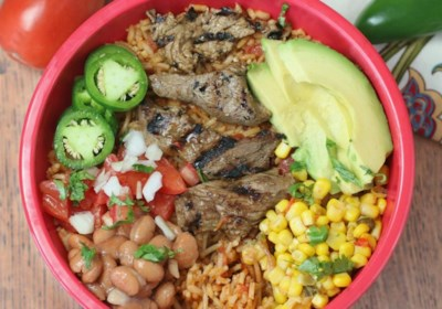 Sizzling Steak Burrito Bowl