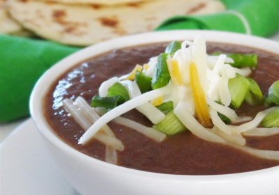 Black Bean and Salsa Soup