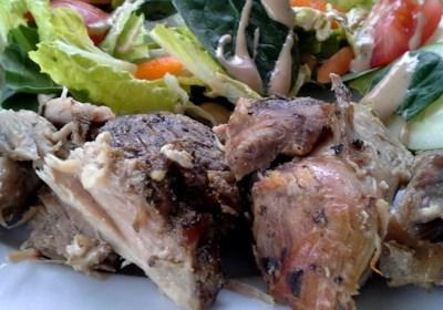 Pork Roast with Herb Rub