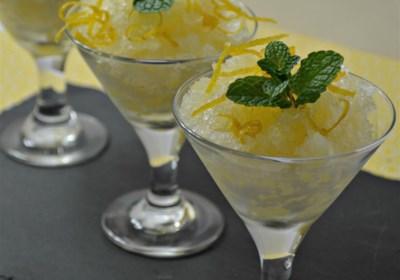 Tart Meyer Lemon Sorbet
