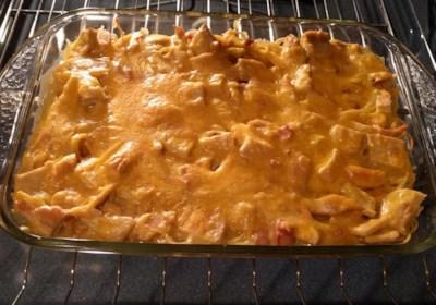 Easy Chicken Tetrazzini