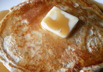Soymilk Flaxseed Pancakes