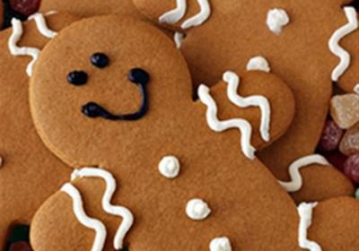 Cake Mix Gingerbread Men