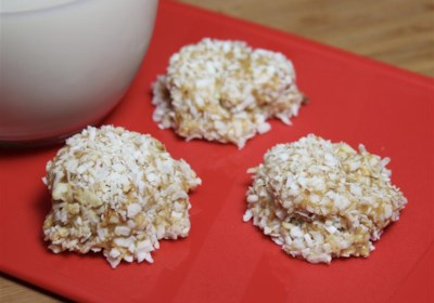 """Awesome """"No-Bake"""" Almond Coconut Balls"""