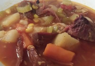 Ham Bone and Vegetable Soup