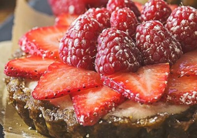 No-Bake Coconut Fruit Tarts