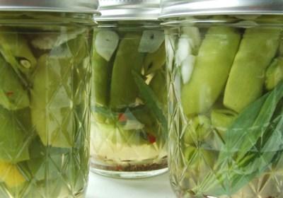 Sugar Snap! Pickled Peas