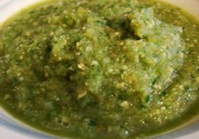 Salsa De Tomatillo