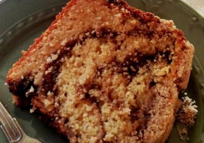 """Jan's Cinnamon and Maple Swirl """"Better""""-Cream Coffee Cake"""