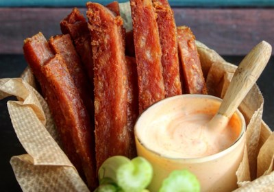 SPAM® Fries with Spicy Garlic Sriracha Dipping Sauce