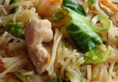 Pork and Shrimp Pancit