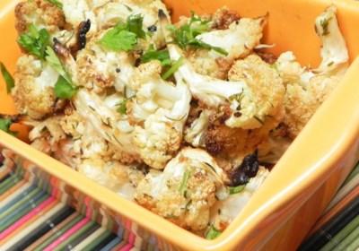 Big Ray's Paleo Roasted Cauliflower