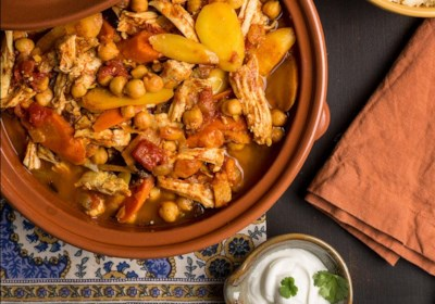 Moroccan Turkey Tagine Stew