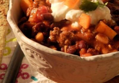 Granny Franny's Persimmon Curry Chili