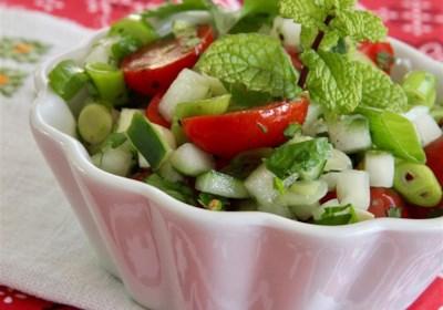 Tomato Cucumber Kachumbar