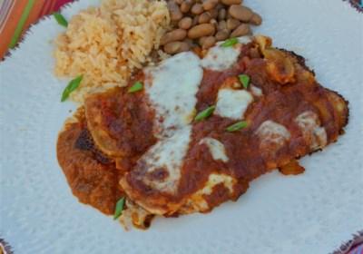 Salsa Roja for Enchiladas or Wet Burritos