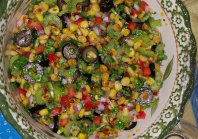 Chef Scott's Smoked Corn Relish Salad