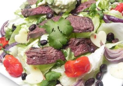 Mexican Steak and Veggie Salad