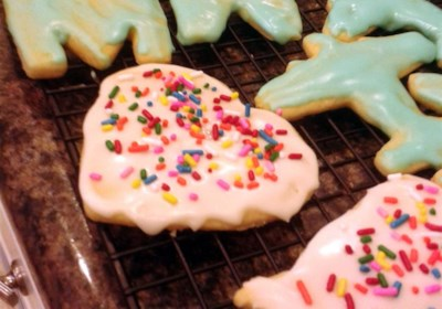 Betty Brown's Butter Cookies