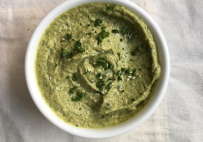 Chef John's Green Hummus