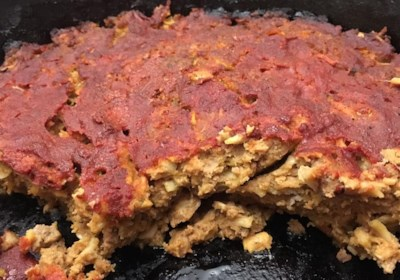 """Ethan's """"Hungry Man's Cast Iron"""" Meatloaf"""