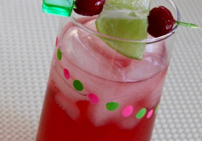 Light Cranberry-Coconut Refresher