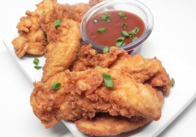 CSC (Cinnamon Sugar Cocoa) Fried Chicken Strips