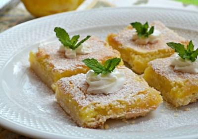 Chef John's Lemon Bars