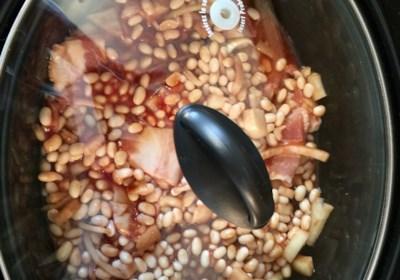 Slow Cooker Homemade Beans