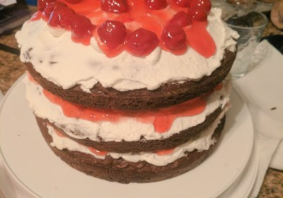 """Pretty Much a Piece of Heaven"" Black Forest Cake"