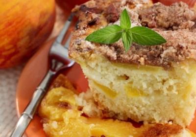 Peach Coffee Cake II