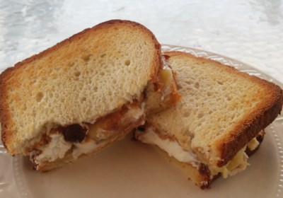 Chunky Monkey Grilled Cheese