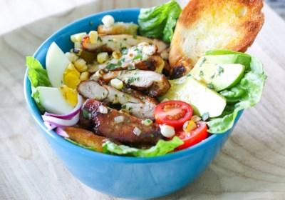 Chicken Avocado Bacon Salad