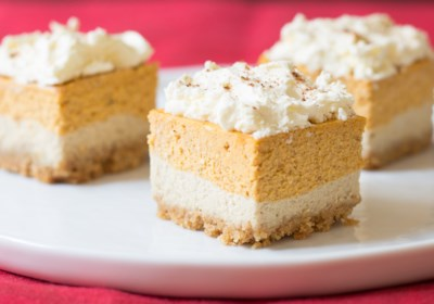 Pumpkin Spice Latte Bars