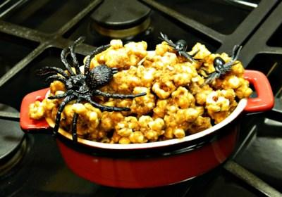 Crunchy Baked Caramel Corn