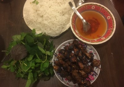 Vietnamese Grilled Pork Skewers