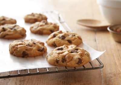 Double Peanut Butter & Milk Chocolate Chip Cookies